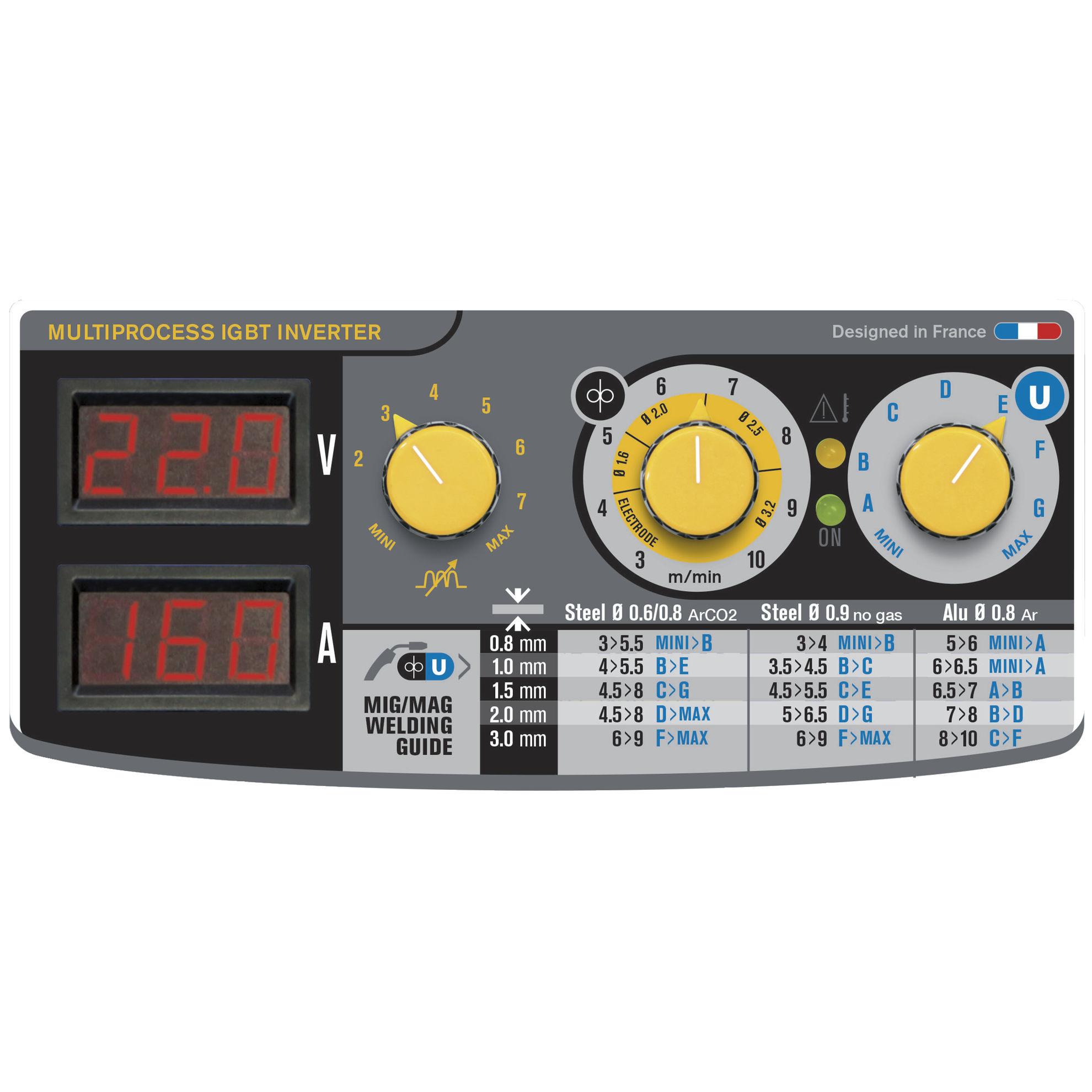 Slika Varilni aparat GYS, INVERTER EASYMIG 160