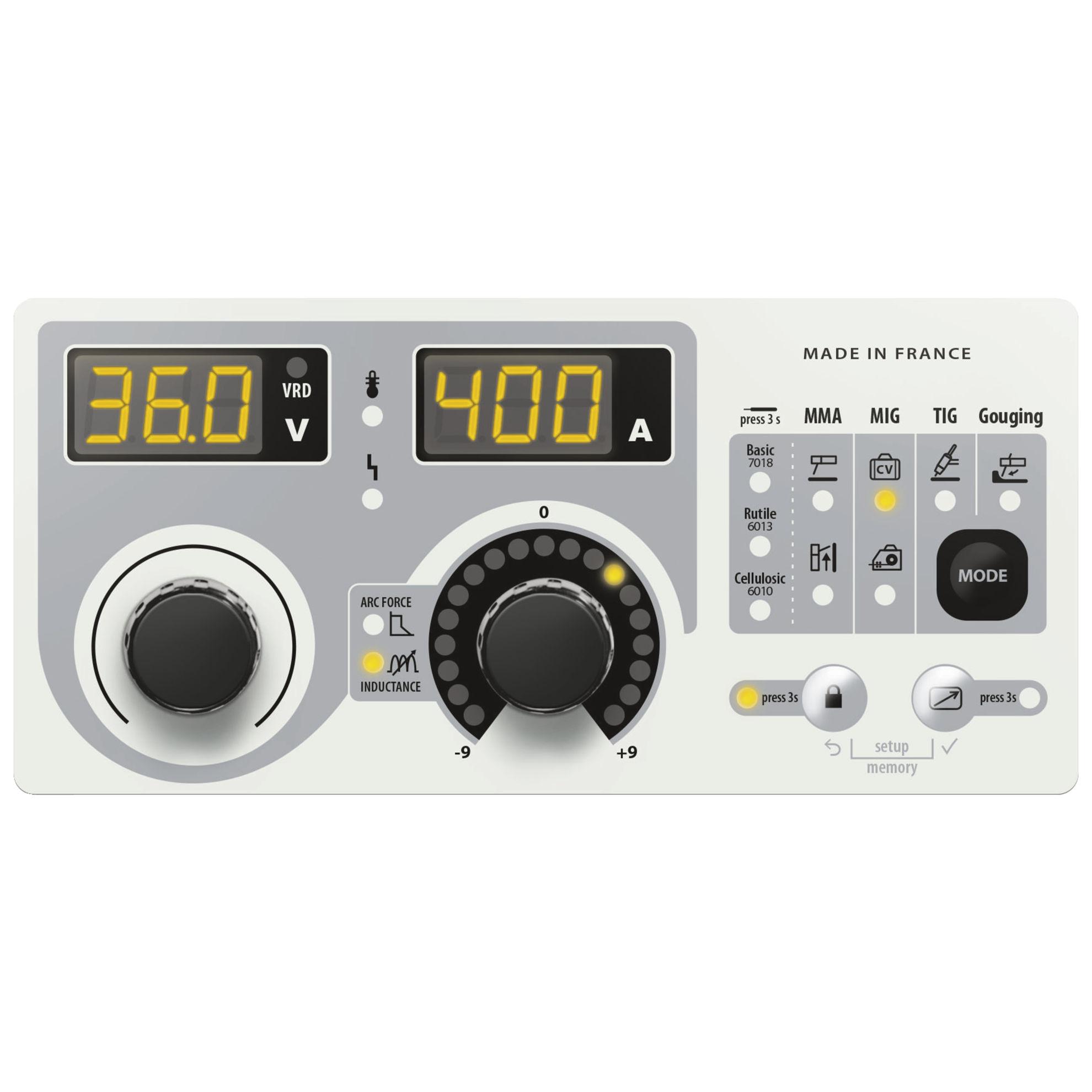 Slika Varilni aparat GYS, EXAGON 400 CC/CV