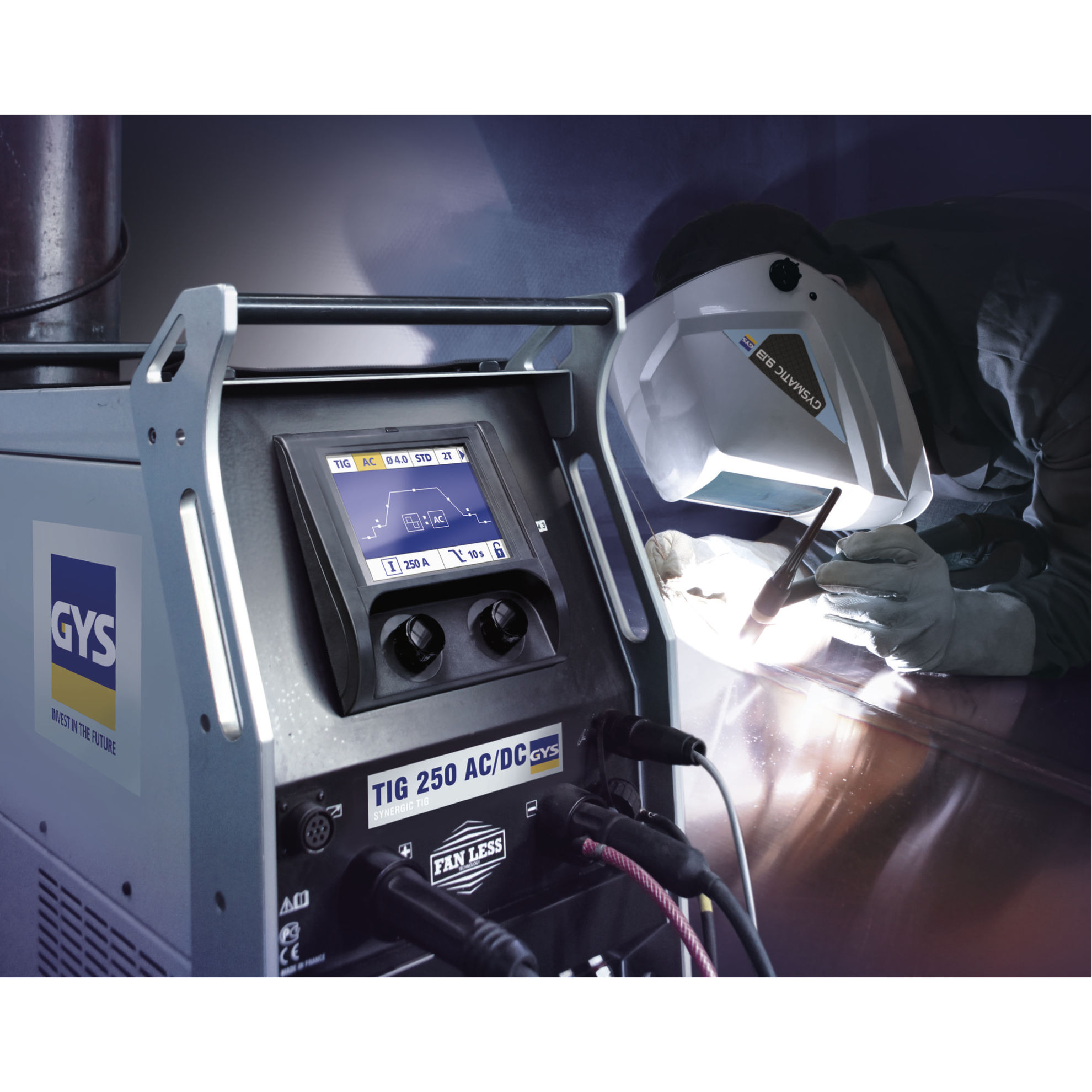 Slika Varilni aparat GYS, TIG 250 AC/DC HF