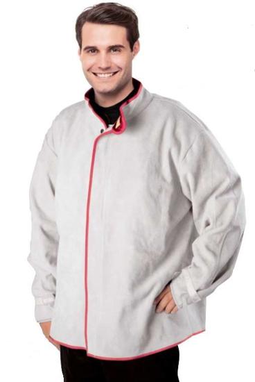 Slika Varilna jakna WELDLINE, cepljeno usnje