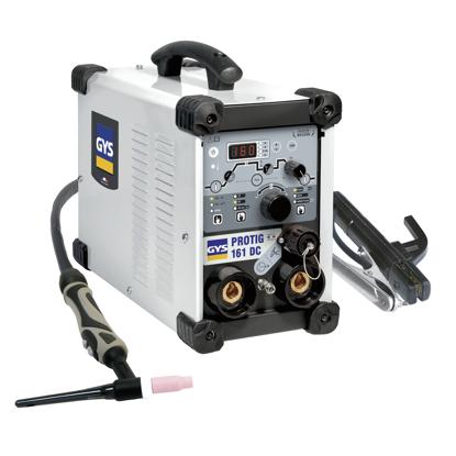 Slika Varilni aparat GYS, PROTIG 161 DC, z opremo