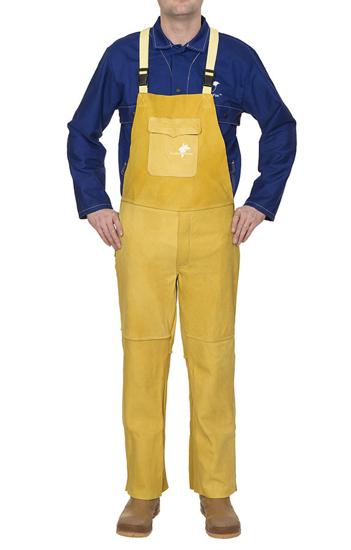 Slika Varilne hlače WELDAS GOLDEN BROWN