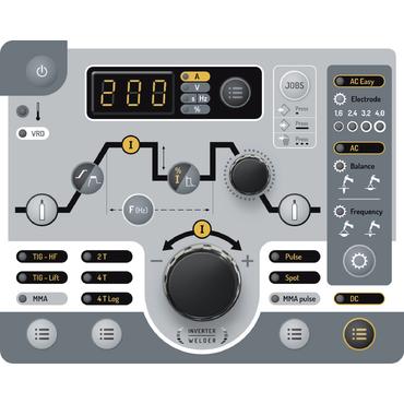 Slika Varilni aparat, GYS PROTIG 201L AC/DC, z opremo