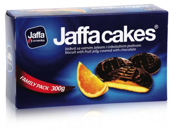Slika Keksi s pomarančnim polnilom, Jaffa, 300 g