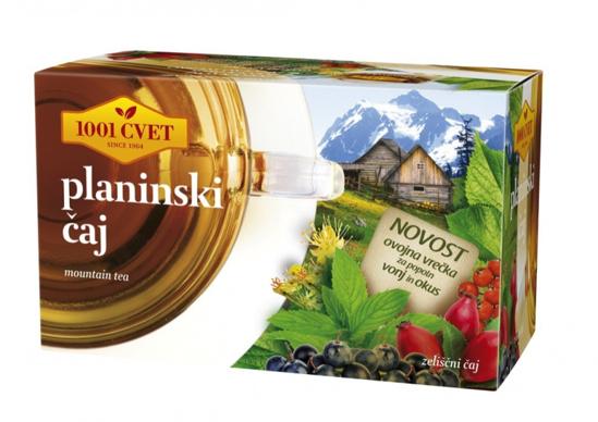 Slika Planinski čaj, 1001 cvet, 20 vrečk