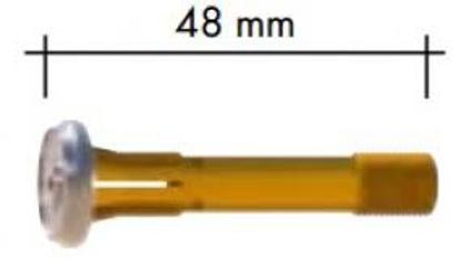 Slika RAZDELILEC PLINA ABITIG L=48,0MM 2,0MM