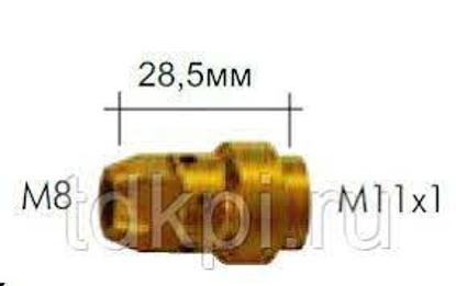 Slika NASTAVEK ŠOBE+RAZPRŠ. M11x1 / M8 28,5MM